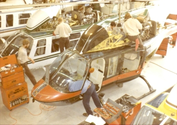 Andy Working on Helicopters